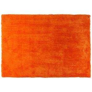 Tom Tailor Handtuft-Teppich  Soft uni | orange | 100 % Polypropylen, Synthethische Fasern | 85 cm | Möbel Kraft