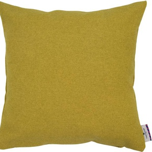 Tom Tailor Kissenhülle »Wooly«, 40x40 cm, gelb