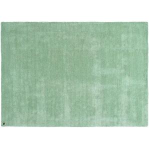 Tom Tailor Kurzflorteppich  Powder ¦ grün ¦ 100 % Polyester, Synthethische Fasern ¦ Maße (cm): B: 85 Teppiche  Wohnteppiche » Höffner