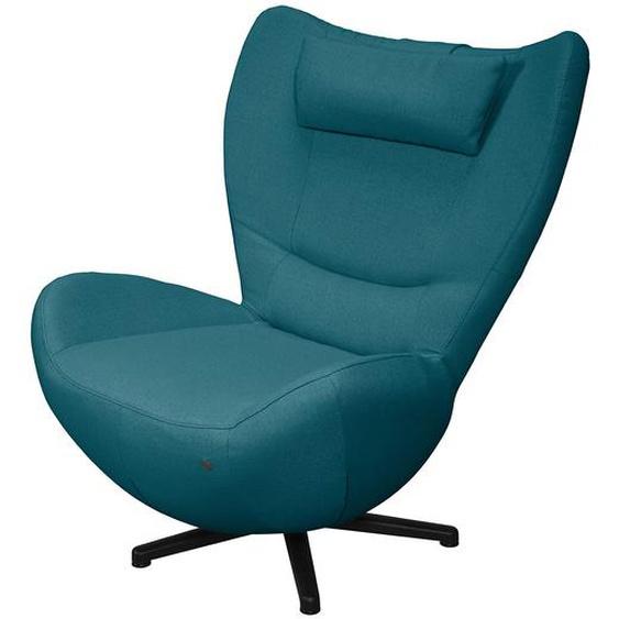 Tom Tailor Sessel Tom Pure Petrolgrün Webstoff 92x101x95 cm (BxHxT)