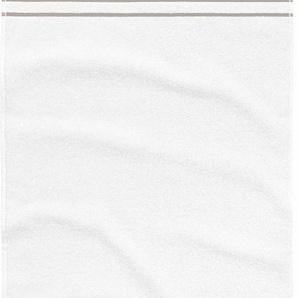 Strandtuch »Uni Stripes«, TOM TAILOR, mit Streifen ausgestattet