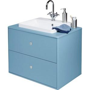 TOM TAILOR Waschtisch »COLOR BATH«, mit integriertem Mineralgussbecken, Breite 80 cm