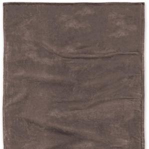Tom Tailor Wohndecke »Angorina«, 150x200 cm, hautfreundlich, braun