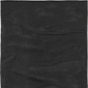 Tom Tailor Wohndecke »Angorina«, 150x200 cm, hautfreundlich, schwarz