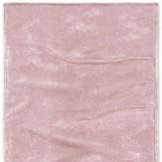 Tom Tailor Wohndecke »Angorina«, 180x220 cm, hautfreundlich, rosa