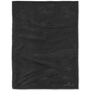 Tom Tailor Wohndecke »Angorina«, 180x220 cm, hautfreundlich, schwarz