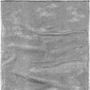 Tom Tailor Wohndecke »Flausch«, 150x200 cm, waschbar, grau, aus 100% Polyester