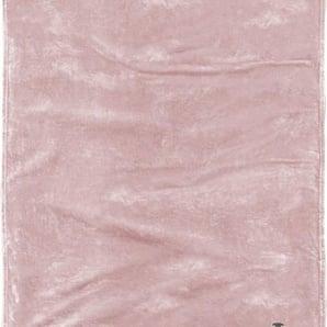 Tom Tailor Wohndecke »Flausch«, 150x200 cm, waschbar, rosa, aus 100% Polyester