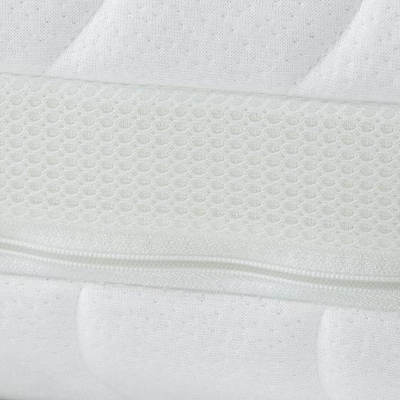 Tonnentaschenfederkernmatratze, f.a.n. Multiplus T, 7-Zonen, 19 cm Höhe, 2 Schichten, von Stiftung Warentest mit GUT (2,3) bewertet, OEKO-TEX Standard 100