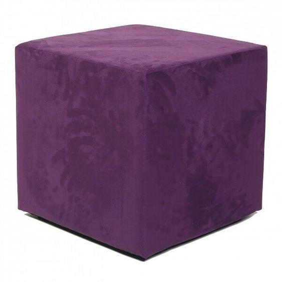 Top Sitzwürfel Hocker 45x45x45 Cm Violett - Neu & Ovp