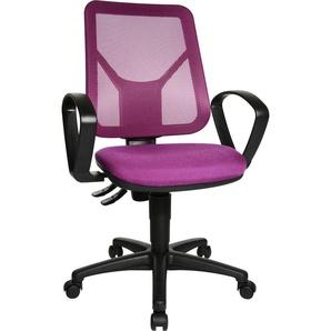 TOPSTAR Drehstuhl Airgo Net Einheitsgröße lila Bürostühle Arbeitszimmer und Büro Möbel sofort lieferbar