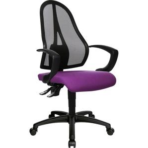 TOPSTAR Drehstuhl Open Point P Einheitsgröße lila Bürostühle Arbeitszimmer und Büro Möbel sofort lieferbar