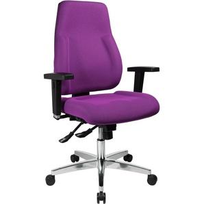 TOPSTAR Drehstuhl P91 Einheitsgröße lila Bürostühle Arbeitszimmer und Büro Möbel sofort lieferbar