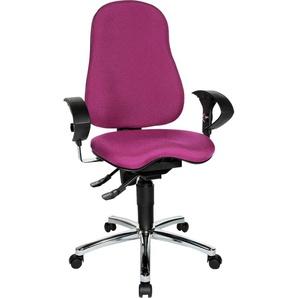 TOPSTAR Drehstuhl Sitness 10 Einheitsgröße lila Bürostühle Arbeitszimmer und Büro Möbel sofort lieferbar