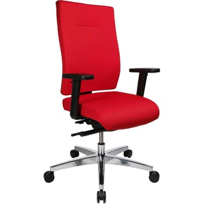 Bürostuhl »Softec Synchro« mit Armlehnen rot, Topstar