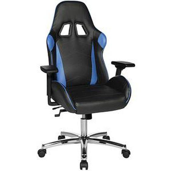 Topstar Speed Chair 2 chrom Gaming Stuhl schwarz Kunstleder