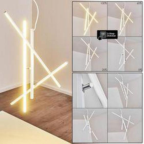 Tornio Pendelleuchte LED Chrom, Weiß, 3-flammig - Modern - Innenbereich - versandfertig innerhalb von 2-4 Werktagen