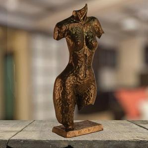 Bumpy Torso Aluminium Figur