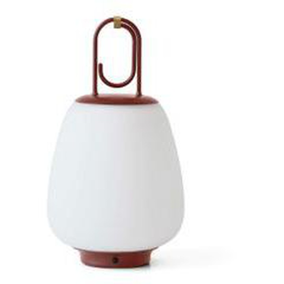 &tradition - Lucca SC51 Portable Akku LED Outdoor-Leuchte, maroon
