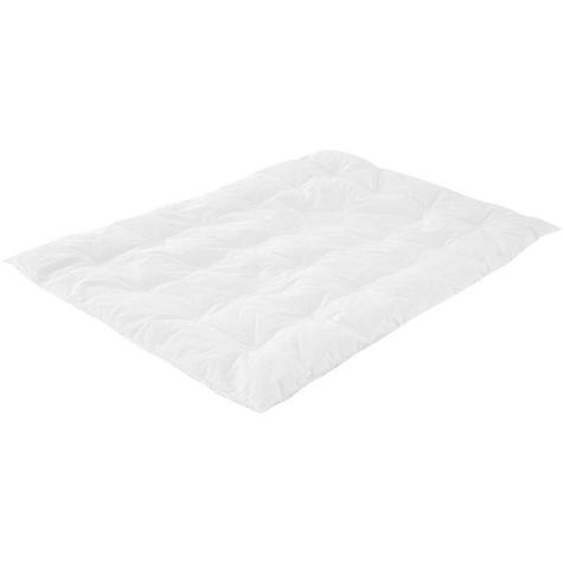 Träumeland Babydecke , Weiß , Beigematerialien , 100x135 cm