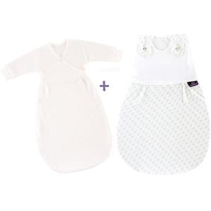 Träumeland Babyschlafsack-Set »Liebmich«, schadstoffgeprüft, hochwertige Naturfaser