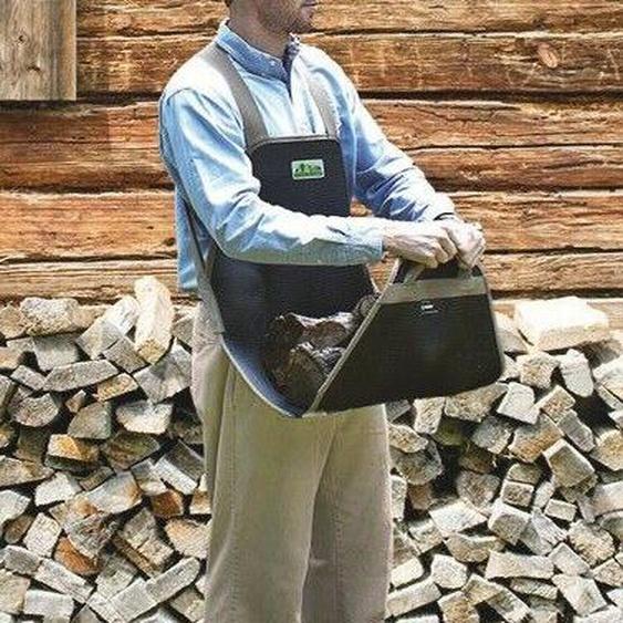 Trageschürze Holztrageschürze Kaminholzschürze Trageschürze