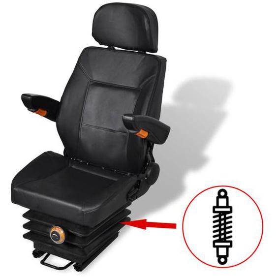 Traktorsitz mit Federung