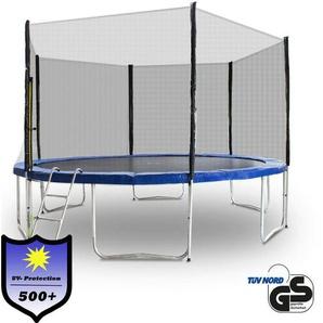 Trampolin 400 Outdoor Gartentrampolin Komplettset 4,00m 400 cm Modell 2019 mit extra verstärkten Rahmen - MS POINT
