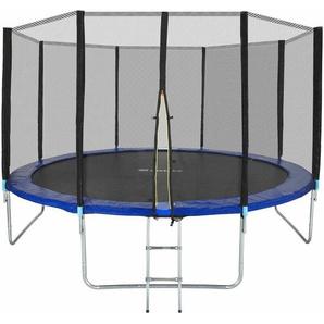 Trampolin Garfunky - Fitness Trampolin, Gartentrampolin, Kindertrampolin - 396 cm - TECTAKE