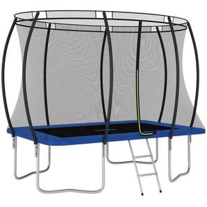 Trampolin-Set Rechteckig 274×183×76 cm 150 kg - VIDAXL