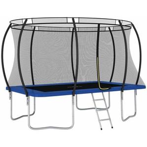 Trampolin-Set Rechteckig 335×244×90 cm 150 kg - VIDAXL