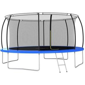 Trampolin-Set Rund 460×80 cm 150 kg - VIDAXL
