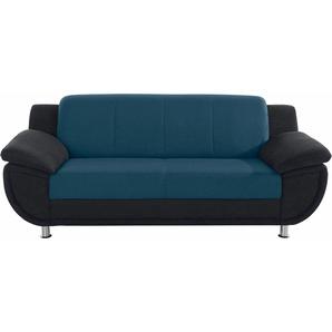TRENDMANUFAKTUR 3-Sitzer, mit Federkern