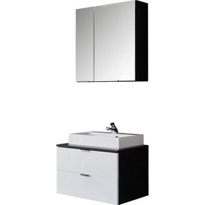 trendteam Badmöbel-Set »Concept One«, (Set, 2-tlg), inklusive Aufsatzwaschbecken