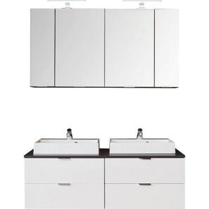 trendteam Badmöbel-Set »Concept One«, (Set, 4-tlg), inklusive Aufsatzwaschbecken