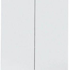 trendteam Badezimmer-Set »Skin«, (Set, 2-tlg), Spiegelschrank und Waschbeckenunterschrank, mit Fronten in Hochglanz- oder Holzoptik