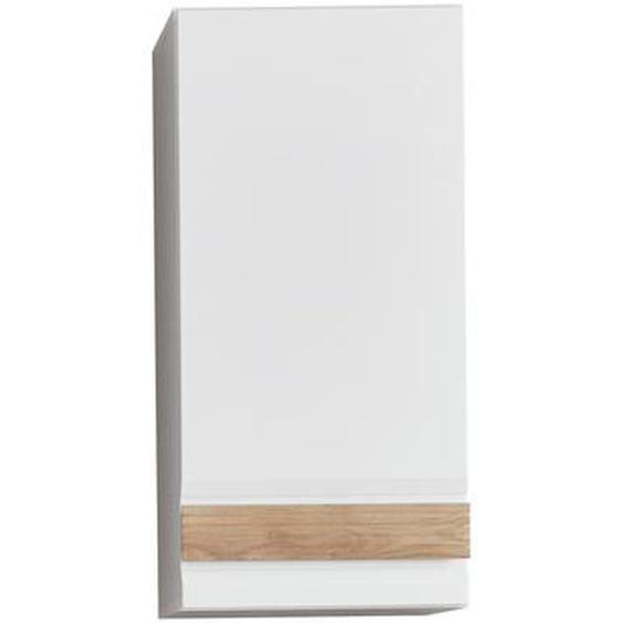 Trendteam Hängeschrank Blake eiche sanremo/weiß 37 x 24 x 77 cm, inkl. Wechselblende