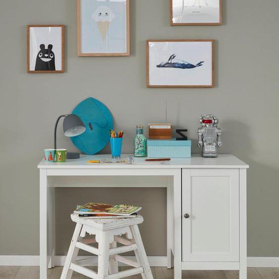 trendteam Schreibtisch Ole Tischplatte: Holzwerkstoff, Gestell: Holzwerkstoff weiß Schreibtische Bürotische und Büromöbel Tisch