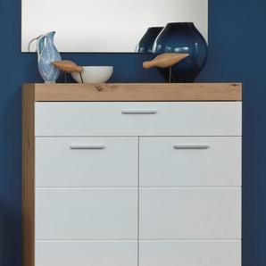 trendteam Schuhschrank Amanda B/H/T: 91 cm x 97 38 cm, 2 beige Schuhschränke Garderoben Nachhaltige Möbel
