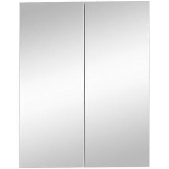 Trendteam Spiegelschrank Blake weiß 60 x 18 x 77 cm