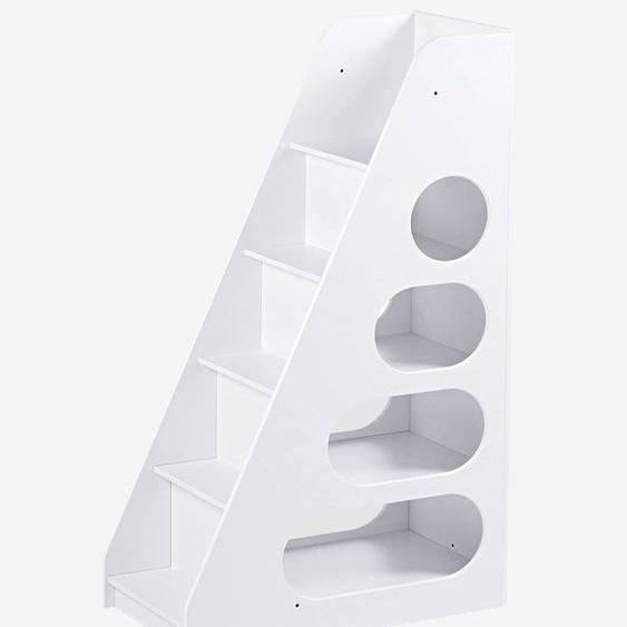Treppe mit Regal Combibed, Leiterregal weiß