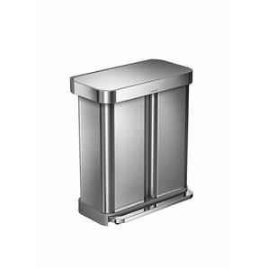 Treteimer, Designer simplehuman, 65.5x56x36 cm