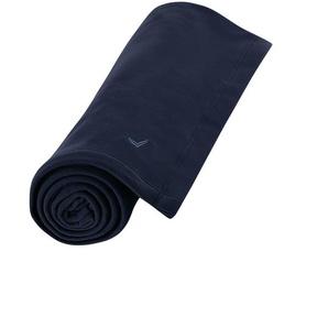 Trigema Fleecedecke Einheitsgröße blau Fleecedecken Decken Wohnaccessoires