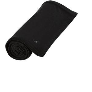 Trigema Fleecedecke Einheitsgröße schwarz Fleecedecken Decken Tagesdecken