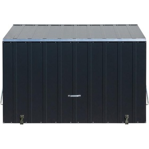 Trimetals Aufbewahrungsbox Sesame Anthrazit 185 cm x 76 cm