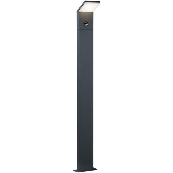 Trio LED-Außenstehleuchte, Aluminium 100 cm