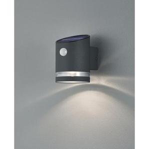 Trio LED-Außenwandleuchte Salta mit Solarmodul Anthrazit