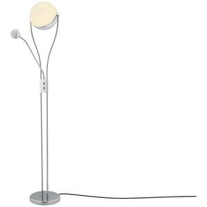 Trio LED-Deckenfluter, 2-flammig, chrom - silber - 180 cm | Möbel Kraft