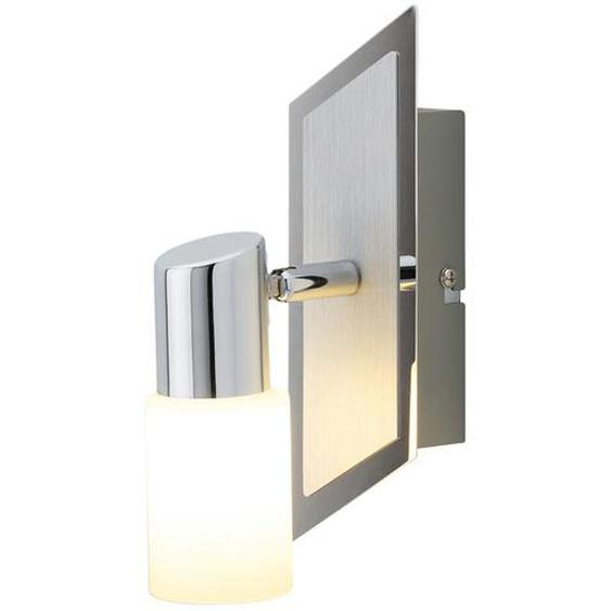 Trio LED-Wandstrahler Aluminium zylinderförmig ¦ silber