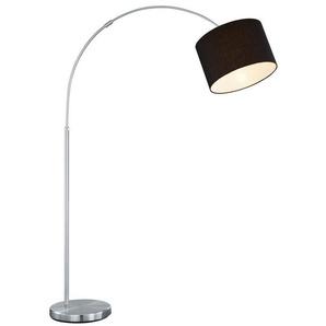 TRIO Leuchten Bogenlampe »Hotel«, Fussschalter,Höhenverstellbar,Leuchtmittel tauschbar